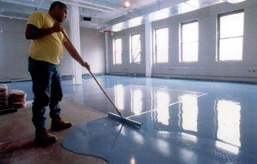 Hardener Epoxy Floor : Jasa floor hardener sika epoxy lantai gudang pipa paralon
